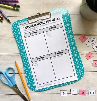 Summer Packet for 2nd Grade: End of Year Skill Review & Practice