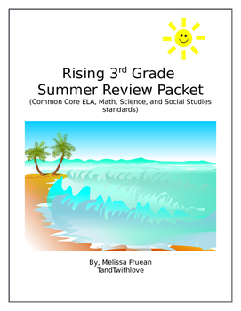 Summer Packet for 2nd or 3rd Grade