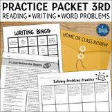 Summer Packet for 3rd Grade