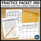 Summer Packet for 3rd Grade