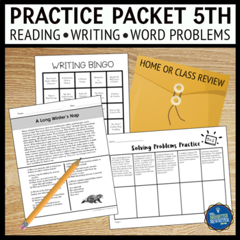 Summer Packet for 5th Grade
