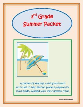 Summer Packet for Third (3rd) Grade