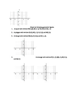 Summer Packet for entering Geometry