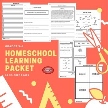 Summer Packet - Incoming 6th Graders