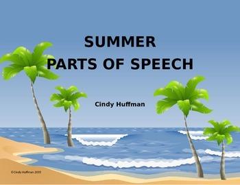 Summer Parts of Speech