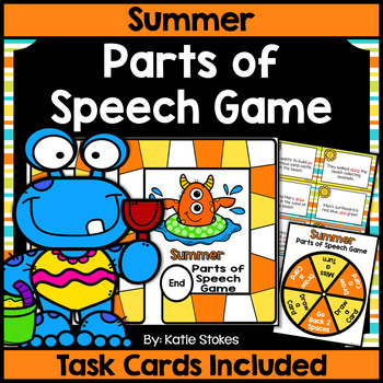 Summer Parts of Speech Game