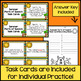 Summer Parts of Speech Game & Task Cards