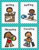Summer Parts of Speech Literacy Activity