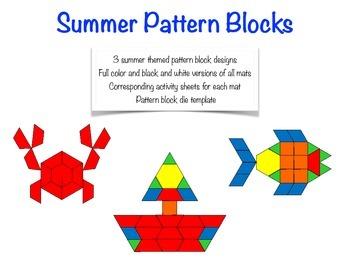 Summer Pattern Blocks