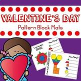 Valentine's Day Pattern Blocks Mats