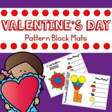 Valentine's Day Pattern Blocks Mats