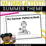 Summer Pattern Booklet – Summer Math Activity