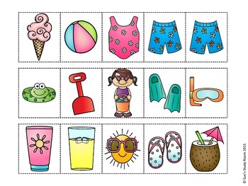 Summer Pattern Cards