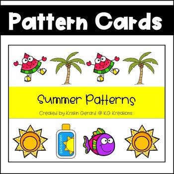 Summer Pattern Cards