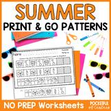 Summer Pattern Printables