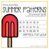 Summer Patterns for English and French Classrooms