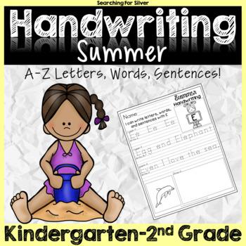 Summer Handwriting No-Prep