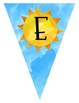 Summer Pennant Banners for CLASSROOM DECOR