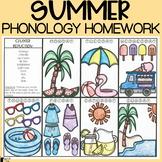 Summer Phonology Homework