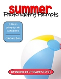 Summer Photo Writing Prompts with Word Bank