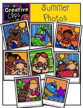 Summer Photos {Creative Clips Digital Clipart}