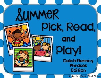 Summer Pick, Read, and Play Phrases