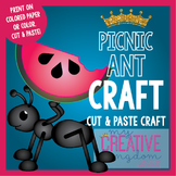 Summer Picnic Ant Craft