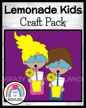 Summer Picnic Craft and Writing: Lemonade Kids