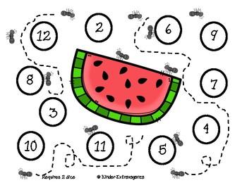 Summer Picnic Math and Literacy Mini Bundle