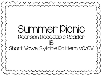 Summer Picnic- Ready Gen High Frequency & Spelling word fl