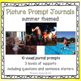 Summer Picture Journal Prompts {Leveled Writing}