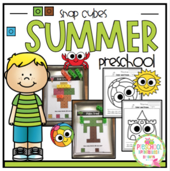 Summer Pictures using Snap Counting Cubes