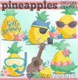 Summer Pineapple Clipart