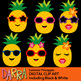 Summer Pineapple clip art