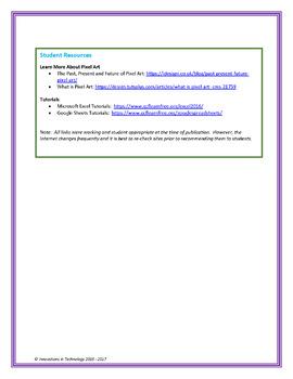 Summer Pixel Art in Microsoft Excel or Google Sheets