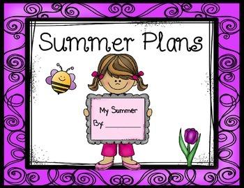 Summer Plans Book