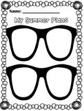 Summer Plans Graphic Organizer