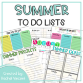 Summer To Do List Planning Pages