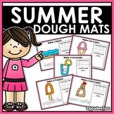 Summer Play Dough Mats Activities