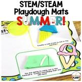 Summer Play Dough Mats   STEM Activities   Play Doh Mats