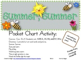 Summer Pocket Chart Poetry Set with Reader and KWL Extension Page