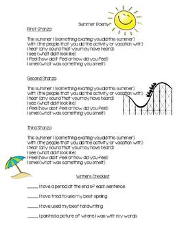 Summer Poem