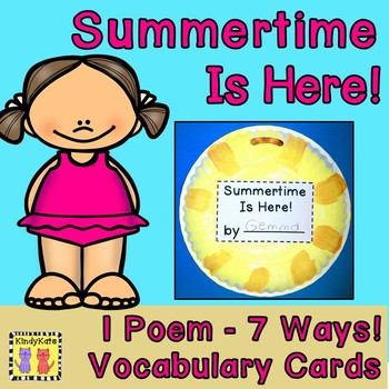 Summer Poem for Poetry Journals and End of Year!