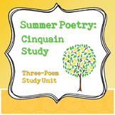 Summer Poetry: Cinquain Study Unit
