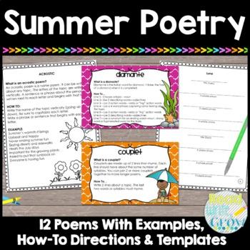 Summer Poetry