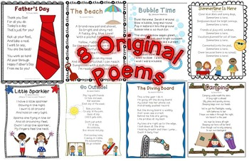 Summer Poetry Pack ~ w/ daily Shared Reading Plans {Common Core Aligned}