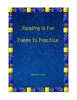 Summer Reading Poetry Packet