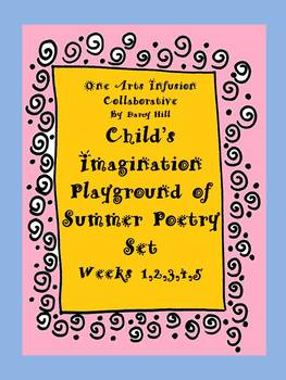 Summer Poetry and Worksheets for Grades K,1,2,3