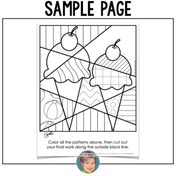 End of the year activities interactive summer coloring for Virtual coloring pages