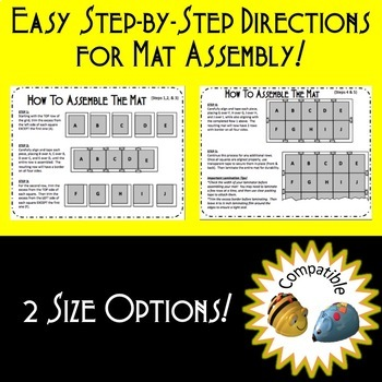 Summer Popsicle Coding Mat for Bee-Bot or Code & Go Robot Mouse